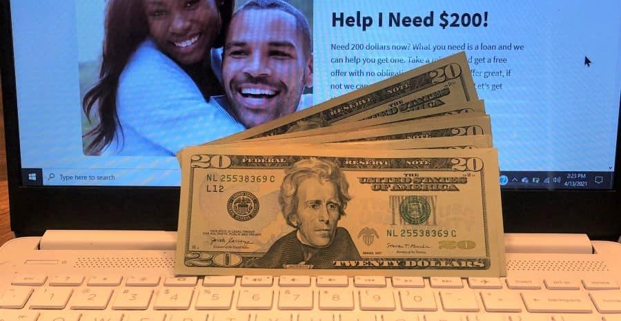Getting 200 Dollars On LoanMonkey.net.