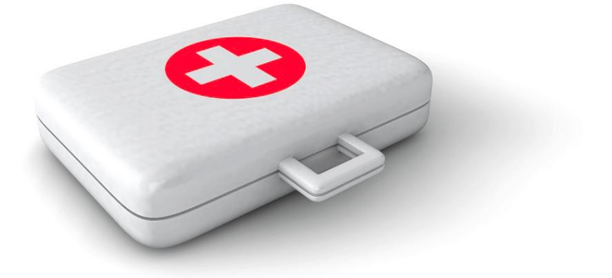 Aviding emergency loan help kit.
