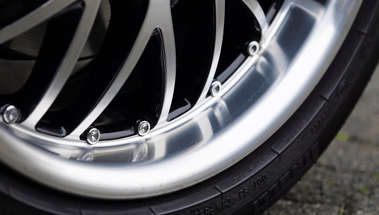 Rims and tires purchased with bad credit.