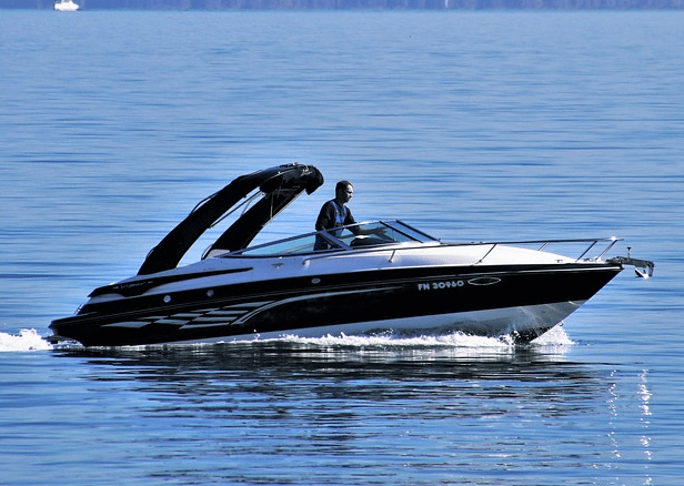 Boat from a used boat loan.