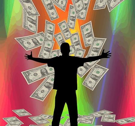 Raining a 10000 dollar windfall