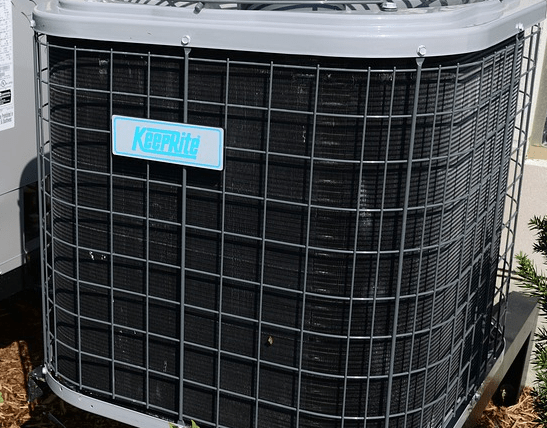 An HVAC system that was financed.