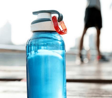 Reusable water bottle.