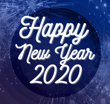 Happy new year in 2020.