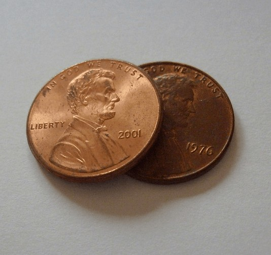 A penny from being cheap.