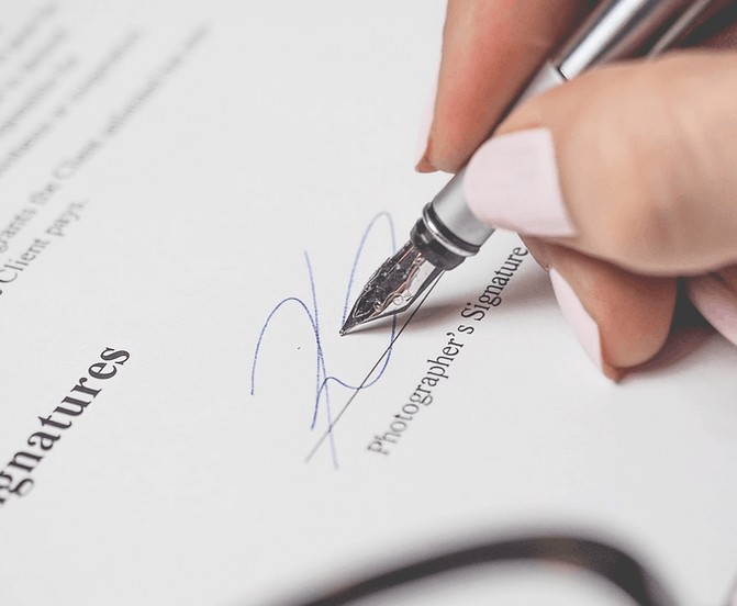 Cosigning for a loan