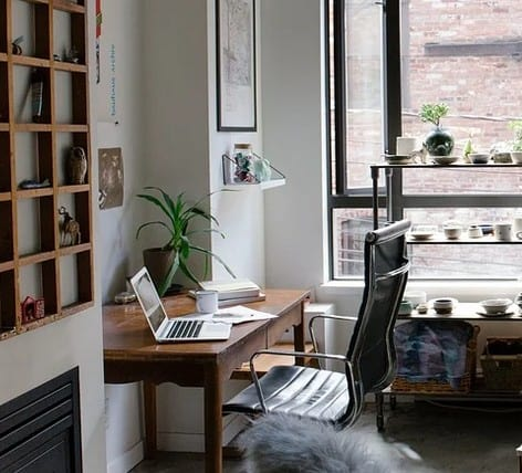 An example of a home office.