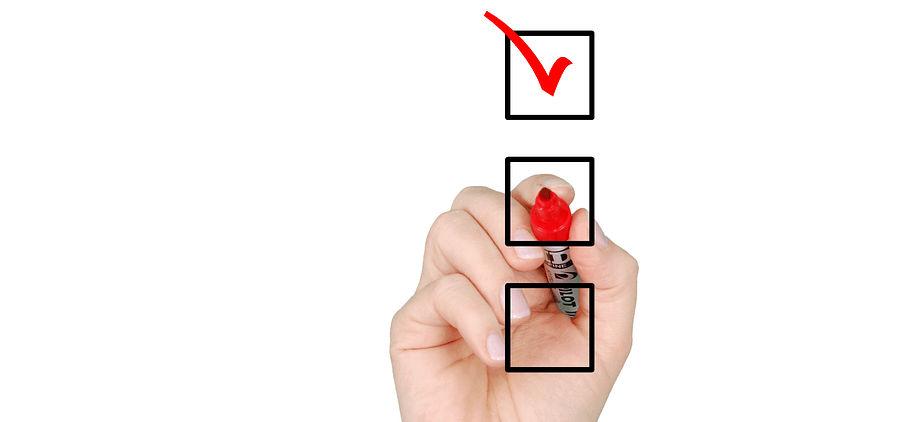 Checklist for saving money during Covid