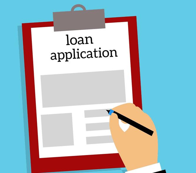 A loan application.