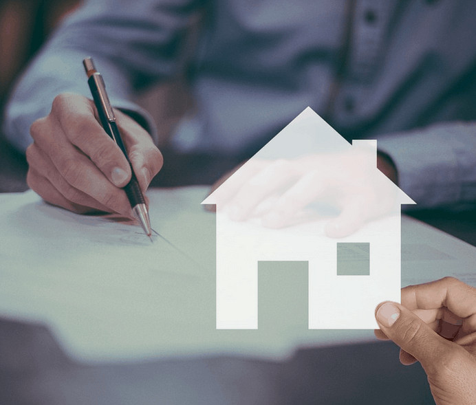 Signing a home loan and getting into debt.