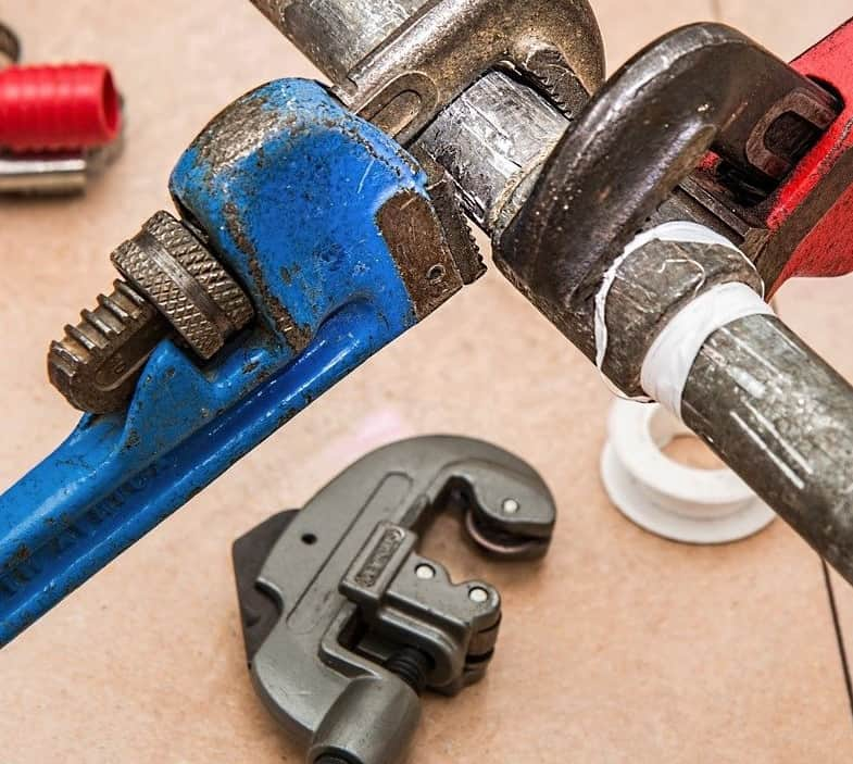 Tools used in home repairs.