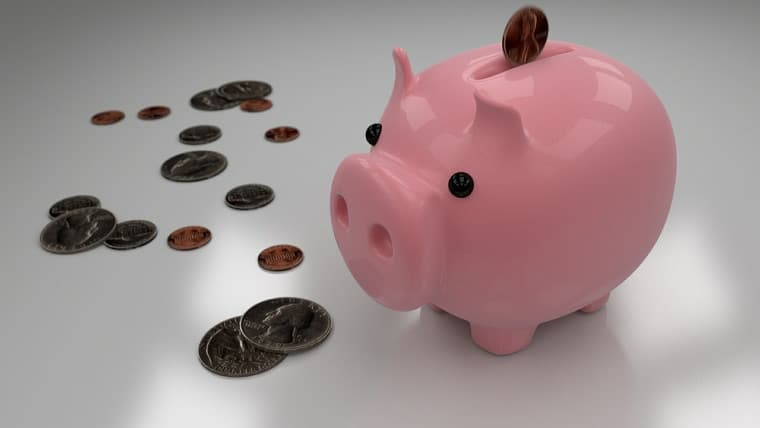 A piggy bank for saving money