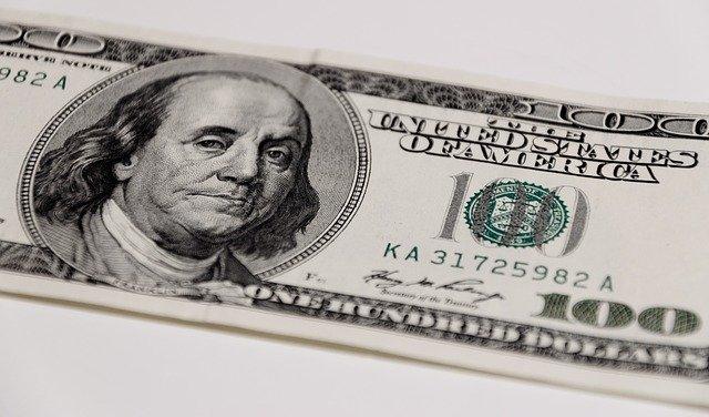 A 100 dollar bill earned in one day.
