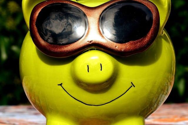 A piggy bank for saving money